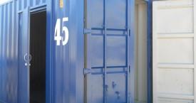 Installed Door on 45′